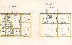 6-комнатный дом, 208.7 м², 6.86 сот., Дубинина 33 за ~ 14.3 млн ₸ в Петропавловске