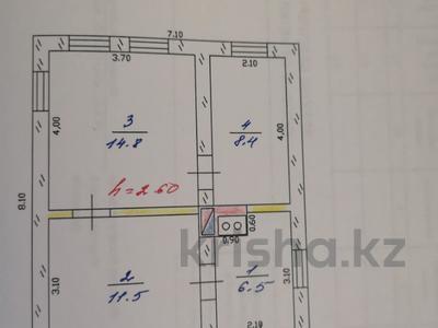3-комнатный дом, 41 м², 6 сот., Калдаякова 18 за 2.3 млн ₸ в Текели — фото 6