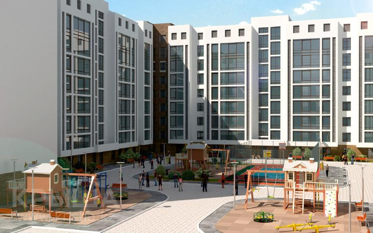 2-комнатная квартира, 72.36 м², 3/10 этаж, Нажимеденова за ~ 18.1 млн 〒 в Нур-Султане (Астана), Алматы р-н