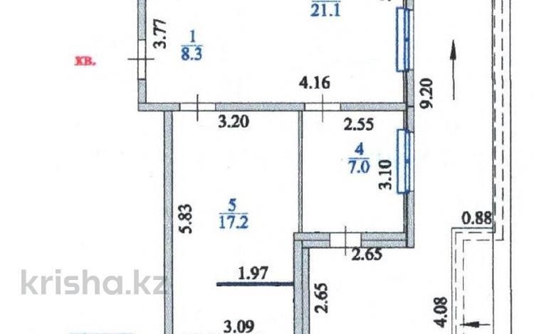 3-комнатная квартира, 72 м², 24/24 этаж, 23-15 9/3 за 19.9 млн 〒 в Нур-Султане (Астана)