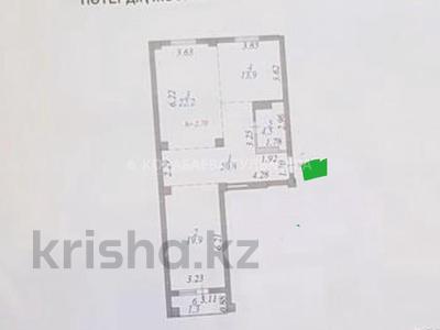 2-комнатная квартира, 85 м², 4/12 этаж, Алтыбакан — Каныша Сатпаева за 23.5 млн 〒 в Нур-Султане (Астана), Алматинский р-н — фото 2