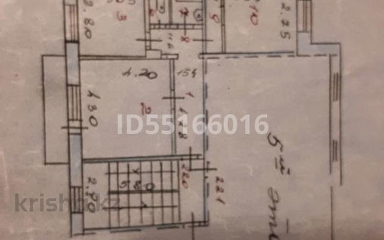 3-комнатная квартира, 74 м², 5/5 этаж, Степной 2 2 за 17 млн 〒 в Караганде, Казыбек би р-н