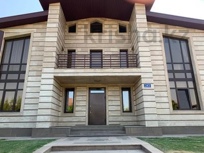 4-комнатный дом помесячно, 366 м², 14 сот., мкр Шугыла 243 за 1.4 млн 〒 в Алматы, Наурызбайский р-н