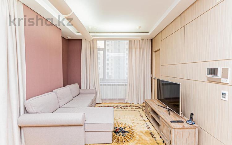 2-комнатная квартира, 70 м², 6/20 этаж, Байтурсынова 1 за 31.5 млн 〒 в Нур-Султане (Астана), Алматы р-н