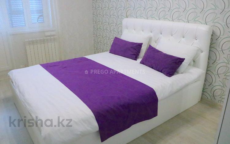 2-комнатная квартира, 60 м², 13/22 этаж посуточно, проспект Мангилик Ел 54 за 10 000 〒 в Нур-Султане (Астана), Есиль р-н
