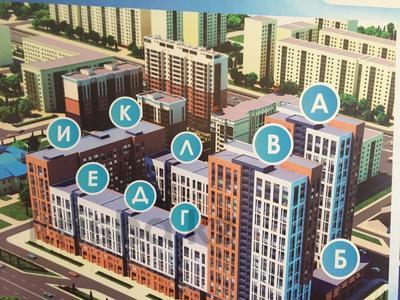 1-комнатная квартира, 32.74 м², 15/23 этаж, Айнаколь — Сарыколь за ~ 7.3 млн 〒 в Нур-Султане (Астана), Алматинский р-н