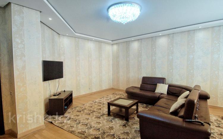 3-комнатная квартира, 124 м², 6 эт. помесячно, Сыганак 15 за 200 000 ₸ в Нур-Султане (Астана), Есильский р-н