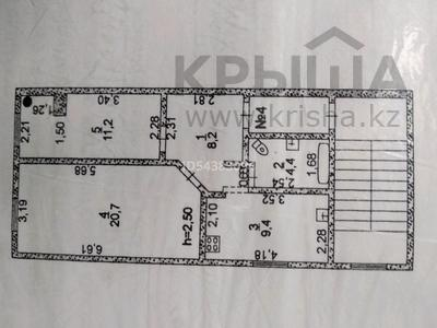 2-комнатная квартира, 55 м², 2/2 этаж, Букар-жырау 7 за 4.5 млн 〒 в Кульсары