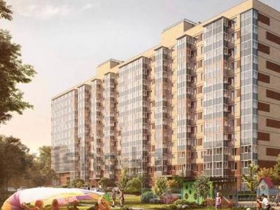 1-комнатная квартира, 33 м², 2/12 этаж, Мурино 1 за ~ 14.9 млн 〒 в Санкт-петербурге — фото 6