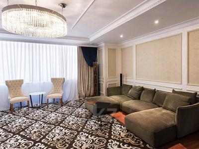 3-комнатная квартира, 130 м², 10/25 эт. помесячно, проспект Рахимжана Кошкарбаева 8 за 300 000 ₸ в Нур-Султане (Астана), Алматинский р-н