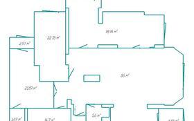 5-комнатная квартира, 200 м², 1/20 эт. помесячно, проспект Абая 45/1 — проспект Республики за 600 000 ₸ в Нур-Султане (Астана), Алматинский р-н