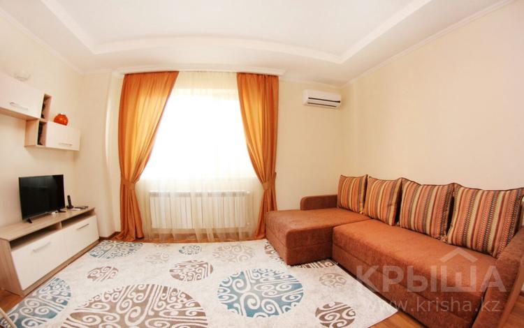 2-комнатная квартира, 52 м², 11/25 этаж посуточно, Каблукова за 12 000 〒 в Алматы, Бостандыкский р-н