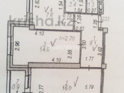 2-комнатная квартира, 50.3 м², 1/9 этаж, Сауран 14 — Жанибек и Керей хандар за 19.5 млн 〒 в Нур-Султане (Астана), Есиль р-н — фото 9