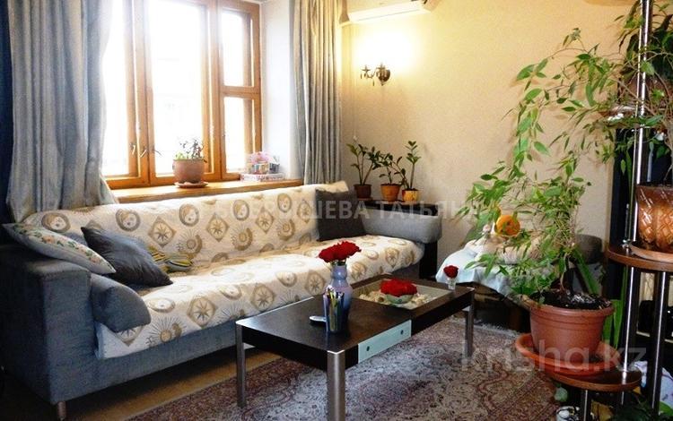 4-комнатная квартира, 87 м², 5/5 этаж, Биокомбинатская — проспект Абая за 35 млн 〒 в Алматы, Алмалинский р-н