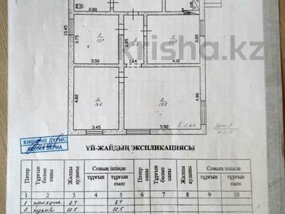 4-комнатный дом, 110 м², 6.4 сот., Ушакова 19 — Талкибаева за 19 млн ₸ в Талдыкоргане — фото 18