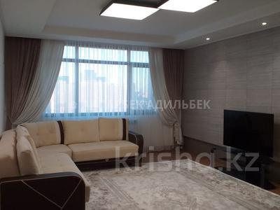 4-комнатная квартира, 135 м², 6/10 эт. помесячно, Нажимеденова 4 за 400 000 ₸ в Нур-Султане (Астана)