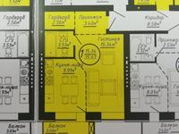 1-комнатная квартира, 35.63 м², 4/5 эт.