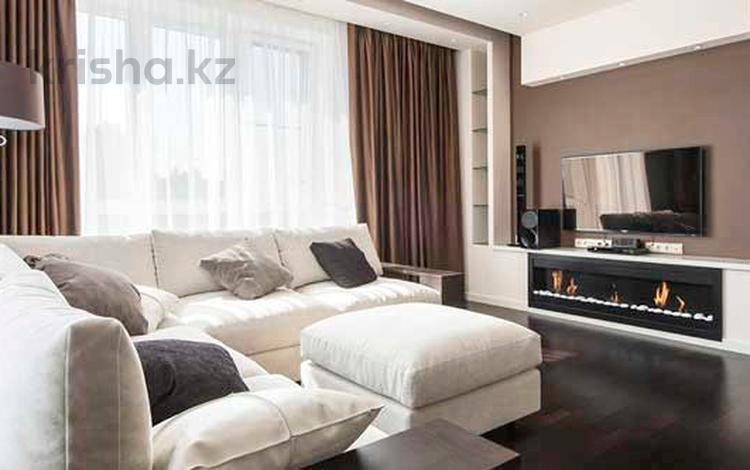 3-комнатная квартира, 150 м², 4/7 этаж помесячно, Кабанбай Батыра 51 — Калдаякова за 550 000 〒 в Алматы