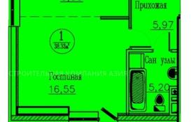1-комнатная квартира, 37.2 м², 3/13 этаж, Кургальжинское шоссе 3/1 — Е435 за ~ 9.7 млн 〒 в Нур-Султане (Астана)