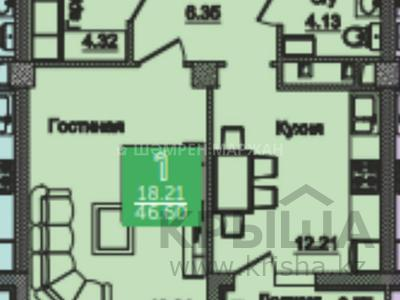 1-комнатная квартира, 43.93 м², 5/18 этаж, проспект Туран за ~ 13.8 млн 〒 в Нур-Султане (Астана), Есиль р-н — фото 4