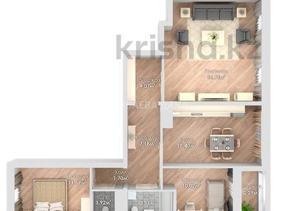 3-комнатная квартира, 84.41 м², 7/9 этаж, Ұлы Дала 42 за ~ 23.9 млн 〒 в Нур-Султане (Астана), Есиль р-н