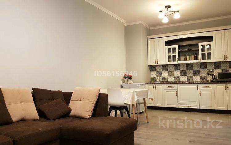 2-комнатная квартира, 55 м², 6/16 этаж посуточно, Навои 208 — Торайгырова за 13 000 〒 в Алматы, Бостандыкский р-н