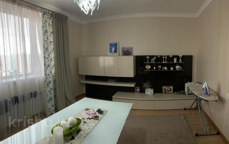 3-комнатная квартира, 123 м², 14/20 этаж, проспект Рахимжана Кошкарбаева за 37 млн 〒 в Нур-Султане (Астана), Алматы р-н