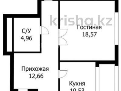 2-комнатная квартира, 74 м², 2/16 этаж, проспект Тауелсыздык за 27 млн 〒 в Нур-Султане (Астана), Алматы р-н — фото 3