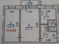 2-комнатная квартира, 45 м², 4/5 этаж