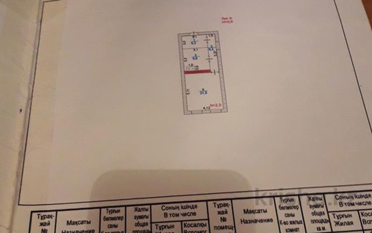 2-комнатный дом, 42.2 м², 10 сот., проспект Бейбарыс 140 — Алтынсарина за 20 млн ₸ в Атырау