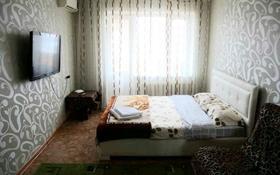 1-комнатная квартира, 60 м², 9 этаж посуточно, мкр Строитель за 6 000 〒 в Уральске, мкр Строитель