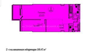 2-комнатная квартира, 59.6 м², 4 этаж, Е 435 3 — Коргальжинского шоссе за ~ 15.5 млн 〒 в Нур-Султане (Астана), Есильский р-н