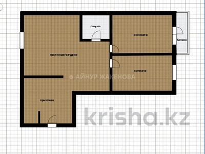 3-комнатная квартира, 76 м², 8/8 этаж, проспект Улы Дала 27/1 за 29 млн 〒 в Нур-Султане (Астана), Есиль р-н