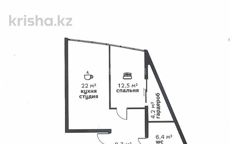 2-комнатная квартира, 57.1 м², 3/7 эт., мкр Ремизовка, Арайлы за ~ 24.6 млн ₸ в Алматы, Бостандыкский р-н
