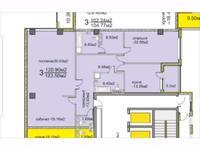 3-комнатная квартира, 140 м², 10/13 этаж