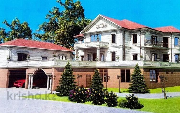 10-комнатный дом, 1000 м², 40 сот., Таусамалы — Жандосова за 290 млн ₸ в Алматы, Наурызбайский р-н