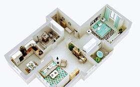 2-комнатная квартира, 75.34 м², 2/13 этаж, Макатаева 127/4 — Муратбаева за ~ 28.6 млн 〒 в Алматы, Алмалинский р-н