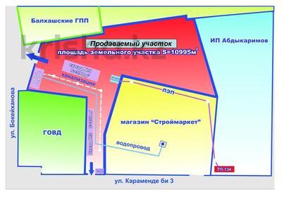 Промбаза 1.1 га, Караменде би 1а — Бокейханова за 16 млн 〒 в Балхаше — фото 3