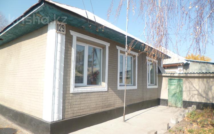4-комнатный дом, 71 м², 12.3 сот., Шевченко 129 — Вишневая за 23 млн 〒 в Бельбулаке (Мичурино)