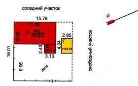 3-комнатный дом, 58 м², 1 сот., Владимирская за 3 млн 〒 в Караганде, Октябрьский р-н