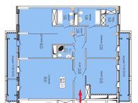 4-комнатная квартира, 154.5 м², 3/10 этаж