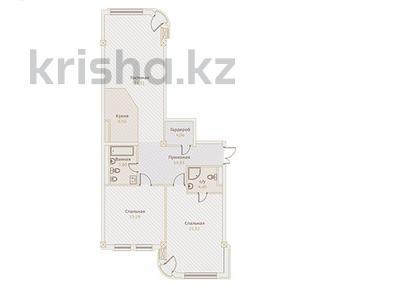3-комнатная квартира, 118 м², Назарбаева — Хаджимукана за ~ 89.7 млн ₸ в Алматы, Медеуский р-н — фото 2