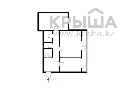 2-комнатная квартира, 72 м², 2/5 этаж, Габидена Мустафина 1 за 22 млн 〒 в Нур-Султане (Астана), Алматы р-н — фото 23