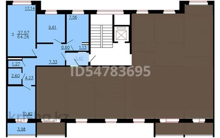 3-комнатная квартира, 65 м², 1/9 этаж, Новый город за 11 млн 〒 в Актобе, Новый город