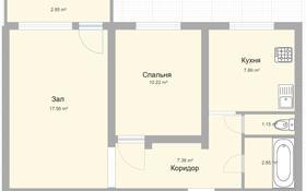 2-комнатная квартира, 48.8 м², 3/3 этаж, Карла Маркса 92 за 3.6 млн 〒 в Шахтинске