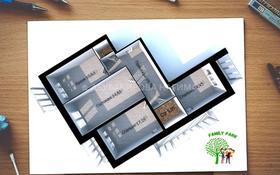 3-комнатная квартира, 110 м², 3/6 этаж, проспект Кабанбай Батыра 75А за 25.3 млн 〒 в Нур-Султане (Астана), Есиль р-н