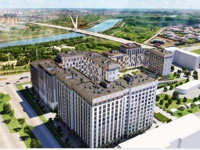 4-комнатная квартира, 137.36 м², 6/9 этаж, Ханов Керея и Жанибека — 38-я за ~ 47.5 млн 〒 в Нур-Султане (Астана), Есиль р-н
