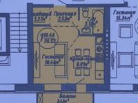 1-комнатная квартира, 27 м², 4/5 эт.