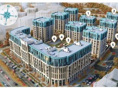 4-комнатная квартира, 113.8 м², 8/9 этаж, Шамши Калдаякова 5 за ~ 45 млн 〒 в Нур-Султане (Астана), Есильский р-н — фото 3