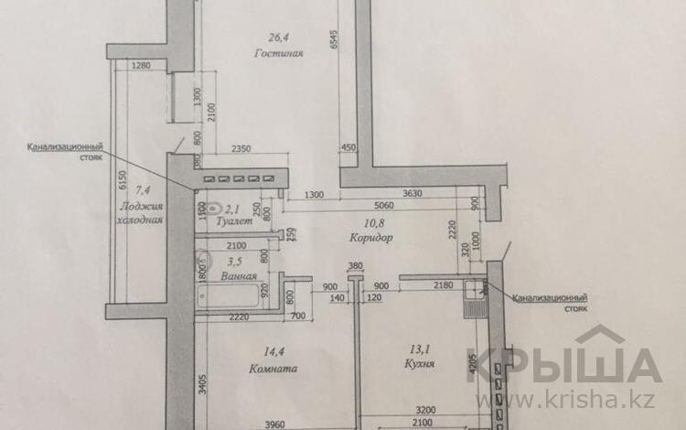 2-комнатная квартира, 72 м², 10/10 эт., Газиза Жубанова за 9 млн ₸ в Актобе